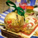 новогодние мастер-классы по росписи ёлочных шаров