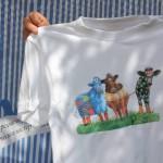 футболка, декупаж на ткани мастер-класс