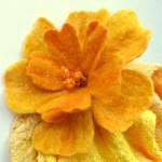 мастер-класс валяние цветочной броши