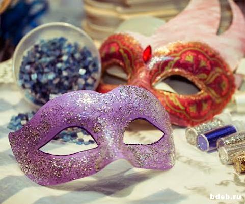 мастер-класс декор венецианской маски