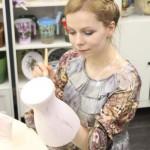 мастер-класс по декорированию вазы