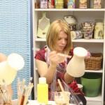 мастер-класс декупаж и роспись вазы