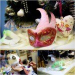 мастер-класс декор карнавальной маски