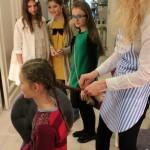 детский мастер-класс по плетению кос