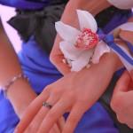 мастер-класс цветочный браслет, браслет из живых цветов