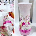 мастер-класс декорирование вазы