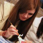 декупаж и роспись керамической игрушки мастер-класс