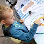 детский мастер-класс по росписи футболки