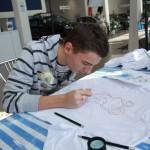 мастер-класс по росписи футболок