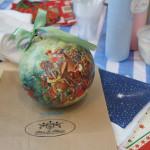 мастер-класс роспись ёлочных шаров