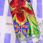 выездной мастер-класс витражная роспись вазы