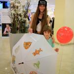 мастер-класс по росписи зонта в торговом центре