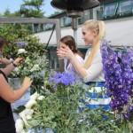 выездной мастер-класс по флористике, создание букетов