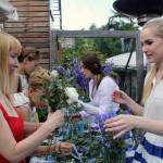 выездной мастер-класс по флористике, создание букета