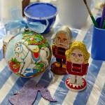 мастер-класс роспись щелкунчиков и ёлочных игрушек