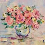 мастер-класс живопись цветы