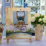 мастер-класс живопись, картина маслом