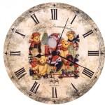 мастер-класс настенные часы своими руками
