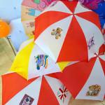 мастер-класс по росписи зонта
