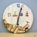 корпоративный мастер-класс настенные часы с морским дизайном