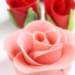 онфеты и розы из марципана мастер-класс на праздник
