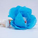 мастер-класс букет из конфет, цветок из конфеты