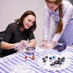 мастер-класс марморирование керамической игрушки