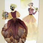 мастер-класс открытки из цветов и листьев