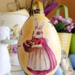 мастер-класс декупаж и роспись яиц на Пасху