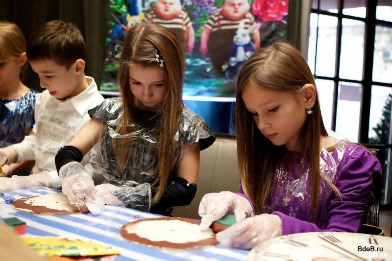 творческий мастер-класс на детском празднике