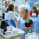 детский мастер-класс декор капкейков