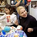 мастер-класс декупаж новогодних шаров