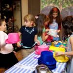 выездной детский мастер-класс декор шляп