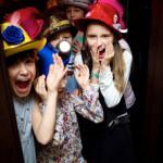 детский выездной мастер-класс декор шляп
