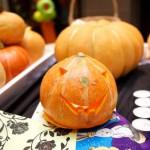 детский мастер-класс подсвечник из тыквы на хэллоуин