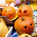 мастер-класс подсвечник из тыквы на хэллоуин