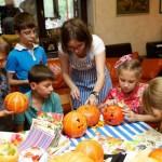 выездной мастер-класс на хэллоуин