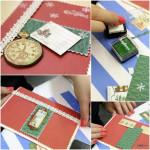 мастер-класс создание новогодней открытки