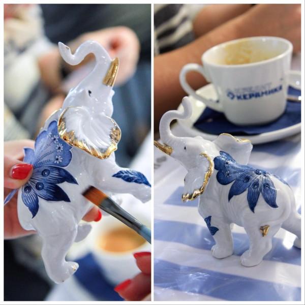 Выездной мастер-класс по росписи керамики